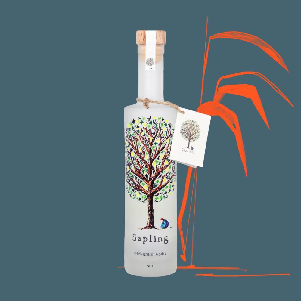 A bottle of spirits