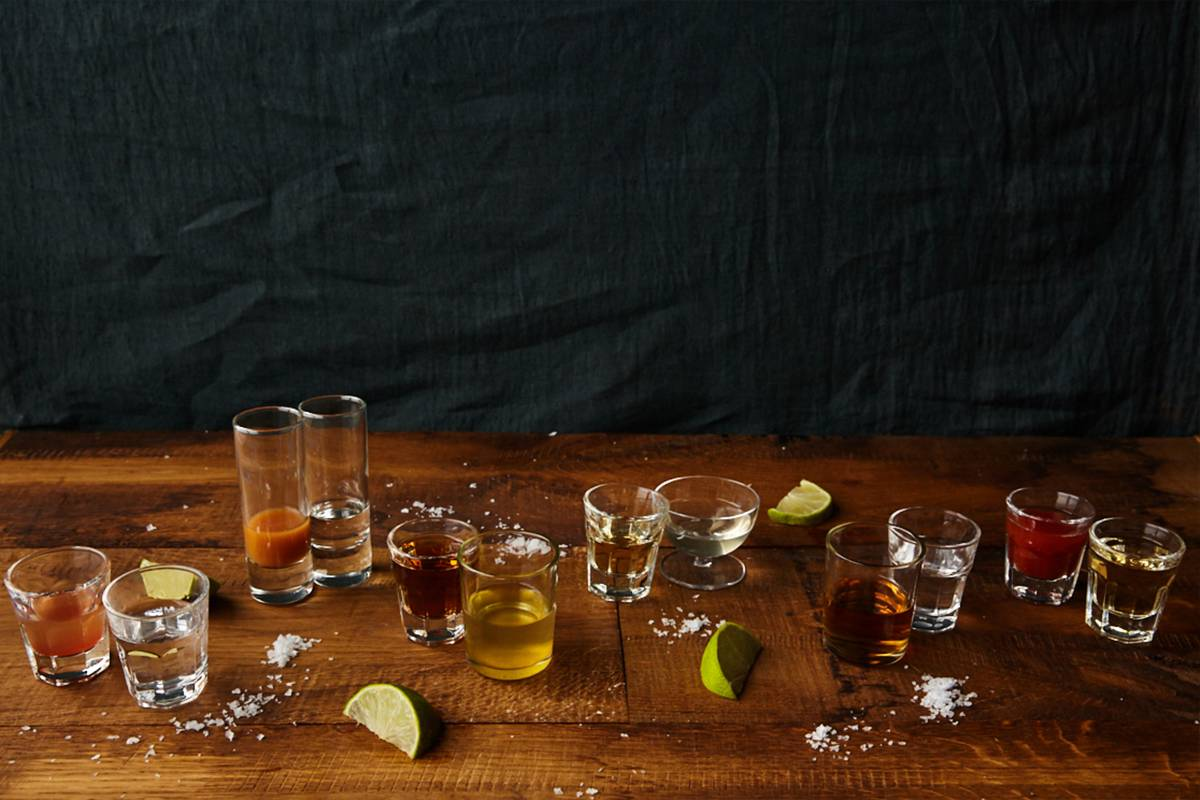 An image of cocktail glasses