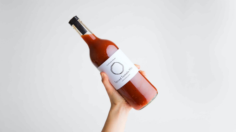 A bottle of drink